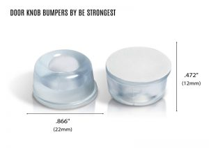 Door Knob Bumpers by Be Strongest shop with dimension