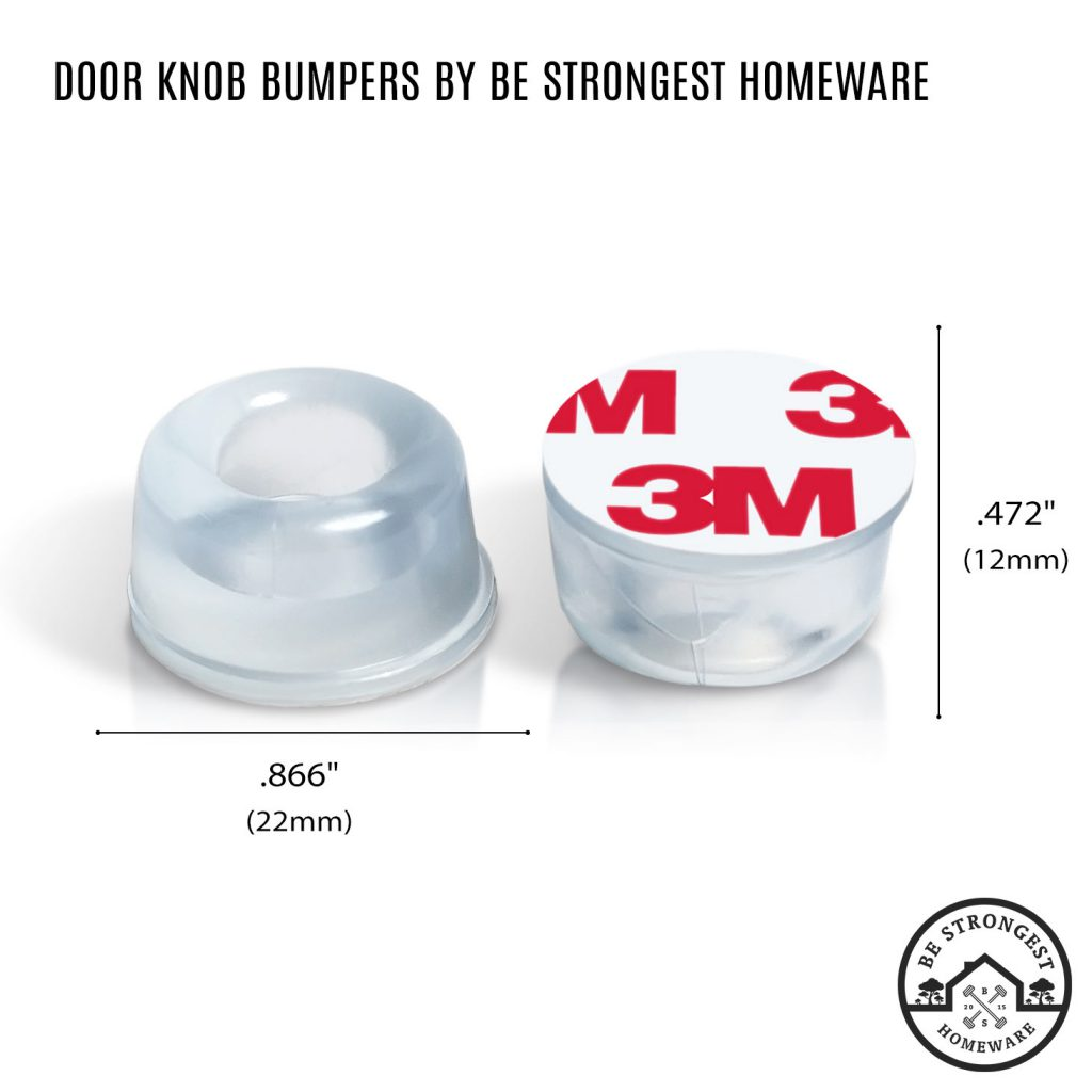 Rubber Bumpers by Be Strongest Homeware with dimension