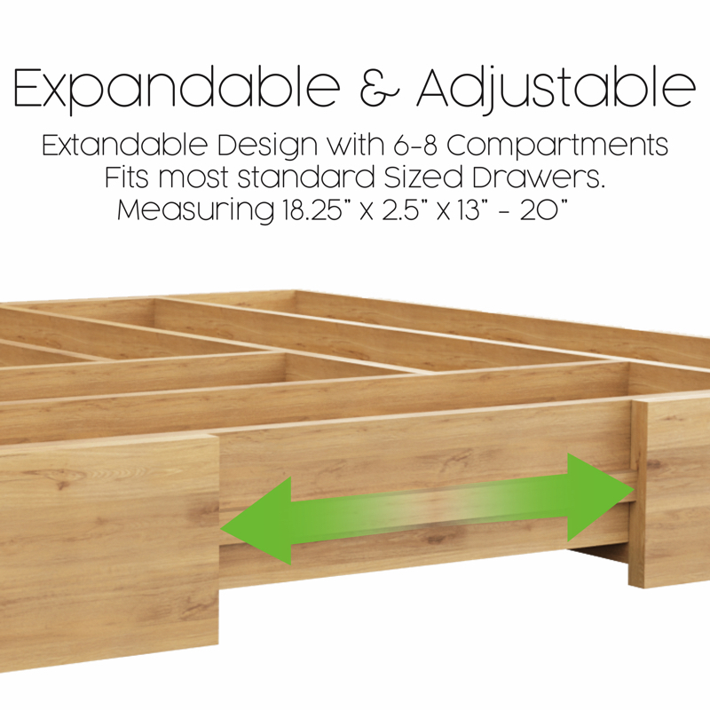 Expandable Drawer Organiser by Be Strongest Homeware