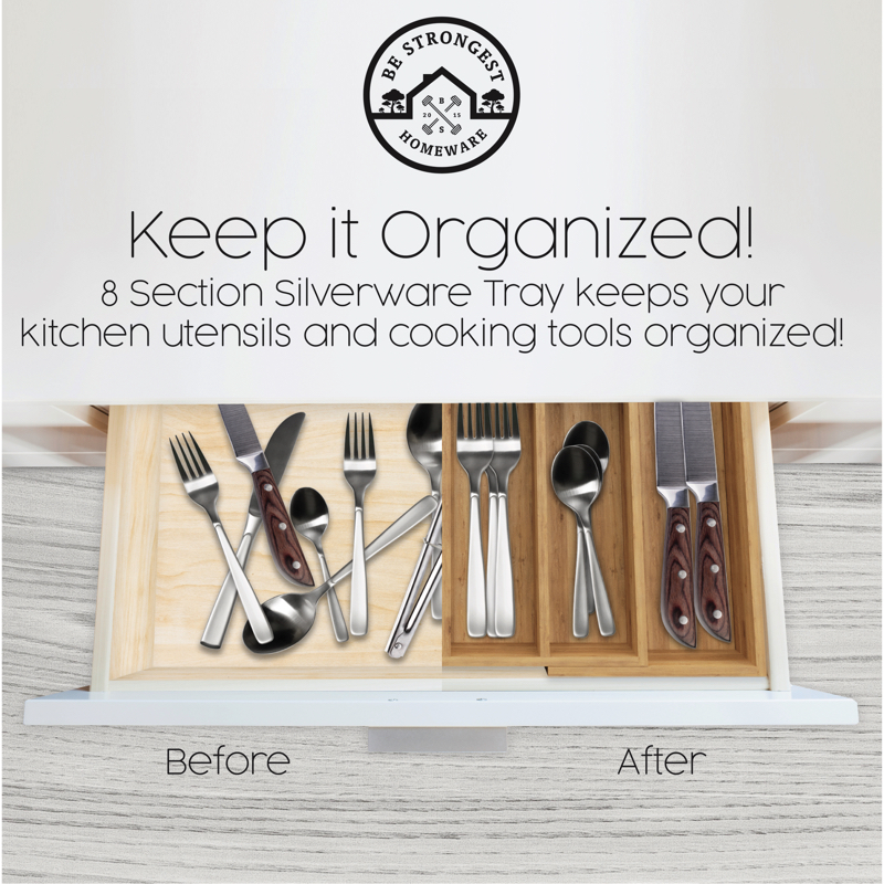 Utensils and cooking tools organiser by Be Strongest Homeware