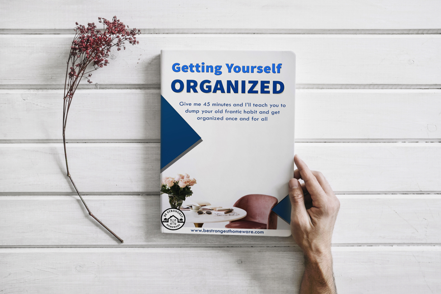 Getting Yourself Organized by Be Strongest Homeware - FREE ebook